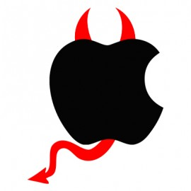 Stickers-diable-Apple