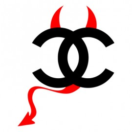 Stickers-diable-Chanel