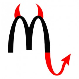 Stickers-diable-McDo