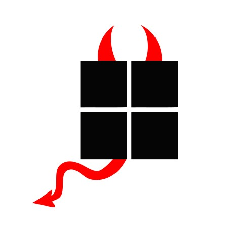 Stickers-diable-Microsoft